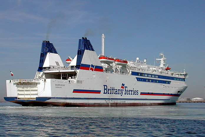 photo: Barfleur. En rade de Cherbourg